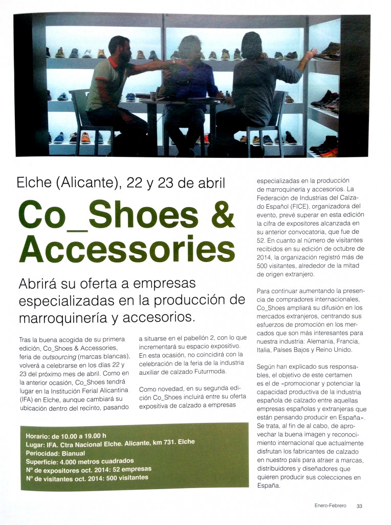 CoShoes Revista del Calzado