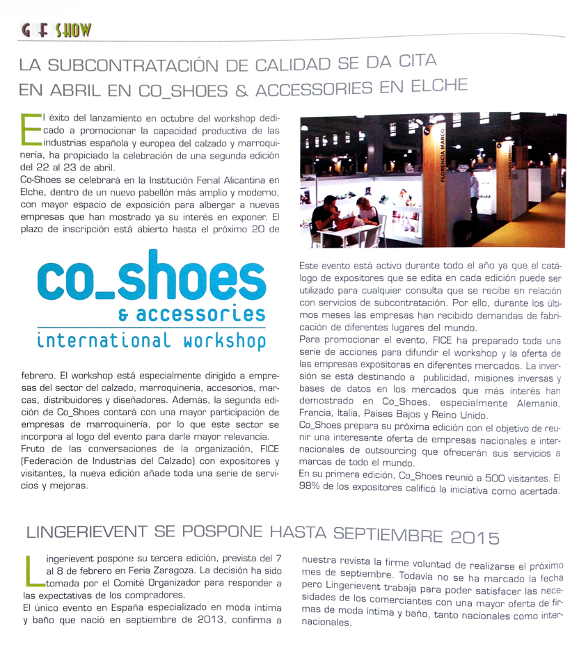 Co_Shoes Global Fashion Export